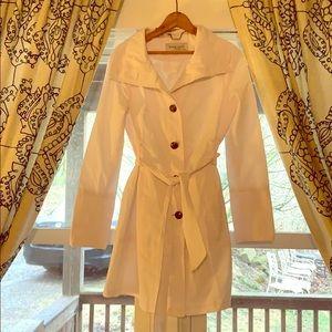 Black Rivet M white jacket spring light coat